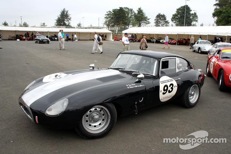 Grille 3 #93 Jaguar Type E 1961