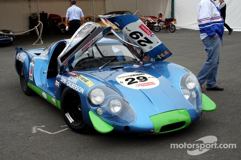 Grille 5 #29 Alpine A220 1969