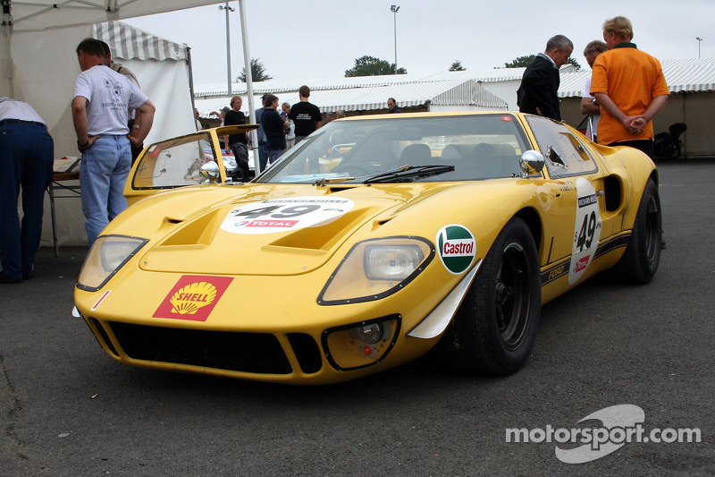 Grille 5 #49 Ford GT 40 1968