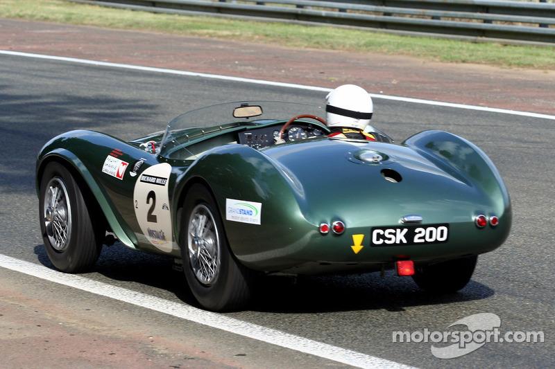 2 Aston Martin Db3s 1953 At Le Mans Classic