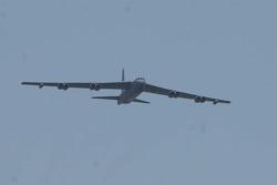 B52 Pre-race flyover