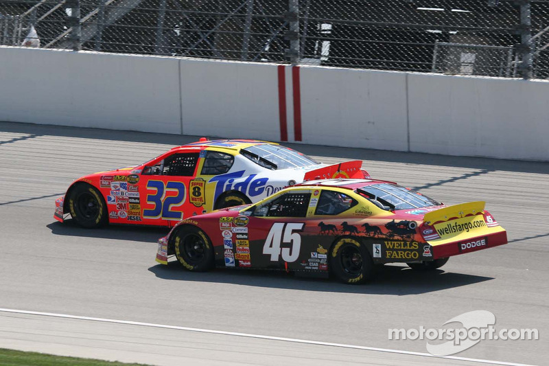 Travis Kvapil et Kyle Petty