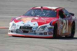 Ken Schrader comes in for a pit stop