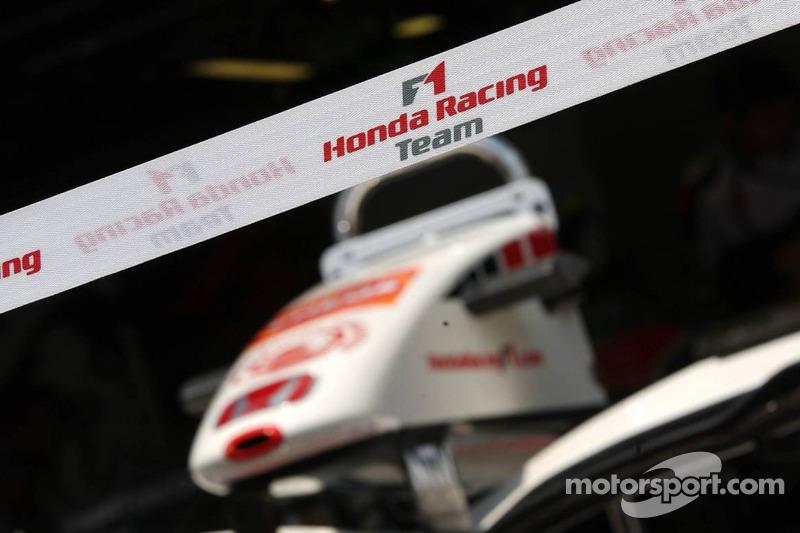 L'aileron avant de Honda Racing