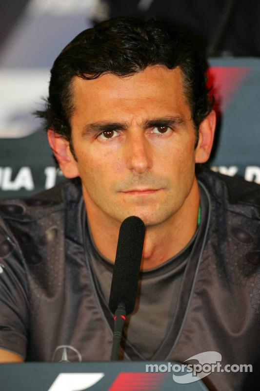 Conférence de presse de la FIA : Pedro de la Rosa