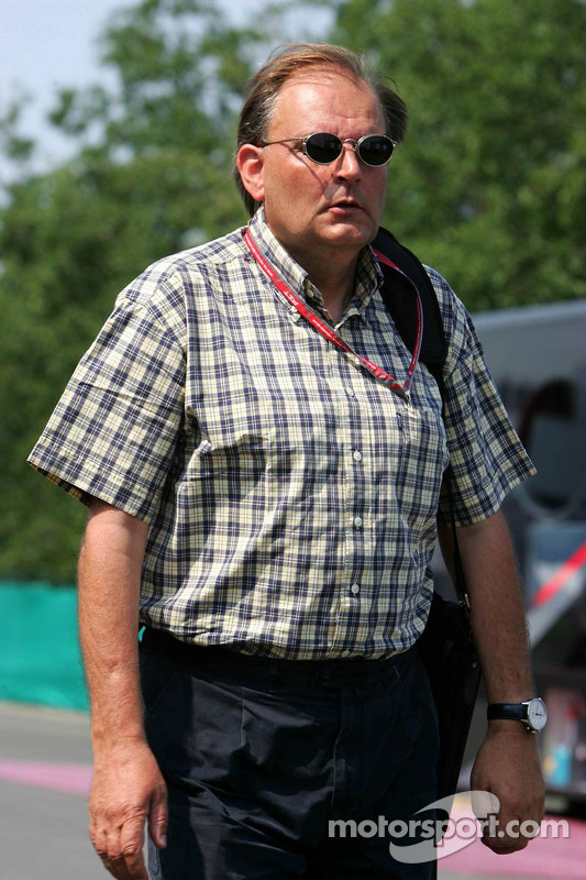 L'ingénieur de Bridgestone Kees van de Grint