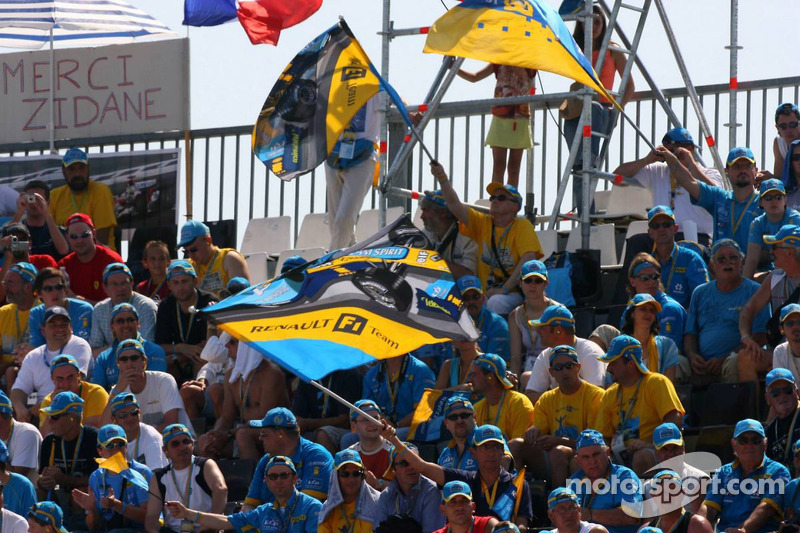 Des fans de Renault