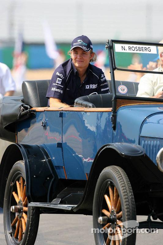 Parade des pilotes : Nico Rosberg