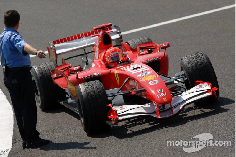 2006 Fransa GP - Ferrari 248 F1