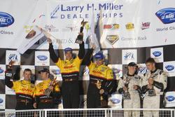 LM P2 podium