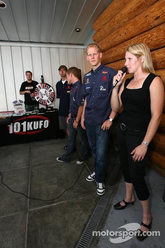 Evénement des fans de pilotes ALMS à Portland : Liz Halliday