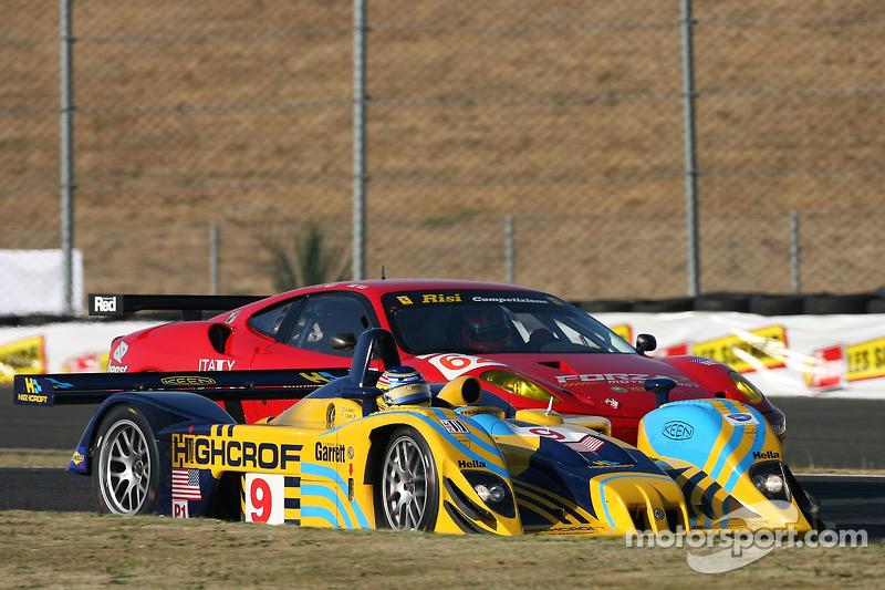 #9 Highcroft Racing Lola EX257: Duncan Dayton, Andy Wallace, #62 Risi Competizione Ferrari 430 GT Be