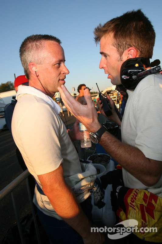 Chris McMurry et Romain Dumas