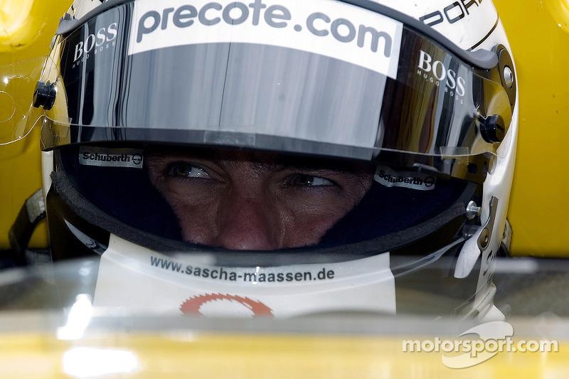 #6 Penske Motorsports Porsche RS Spyder: Sascha Maassen