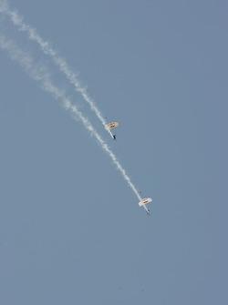 Red Bull stunt team