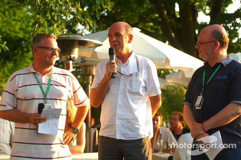 Présentation des bateaux pour la course à Zandvoort: Dr. Wolfgang Ullrich, le patron de Audi Sport