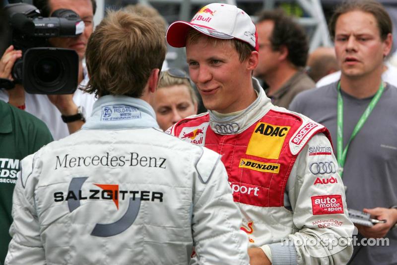 Mattias Ekström et Jamie Green