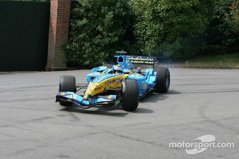 Renault R25: Heikki Kovalainen