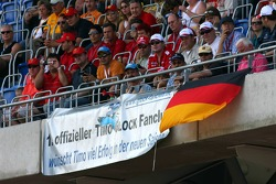 Fans of Timo Glock