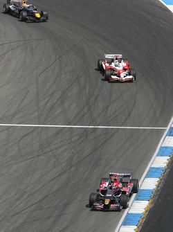 Vitantonio Liuzzi, Jarno Trulli ve David Coulthard