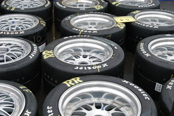 Field of tires