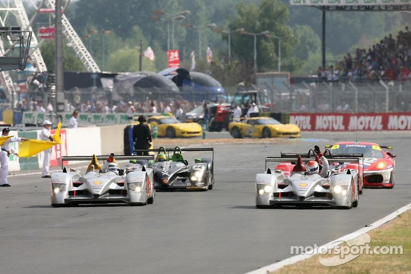 2006 - Audi R10 : Marco Werner, Frank Biela, Emanuele Pirro