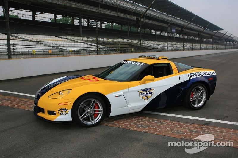 Presentation Of The Allstate 400 At The Brickyard Chevrolet Corvette