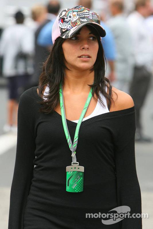 Raquel Rosario, novia de Fernando Alonso