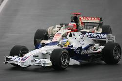 Nick Heidfeld and Rubens Barrichello