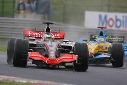 Pedro de la Rosa and Fernando Alonso