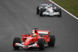 Felipe Massa with Nick Heidfeld