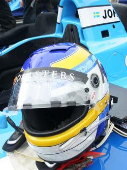 Stefan Johansson's helmet