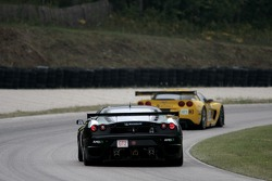 #61 Risi Competizione Ferrari 430 GT Berlinetta: Marc Gene, Toni Vilander