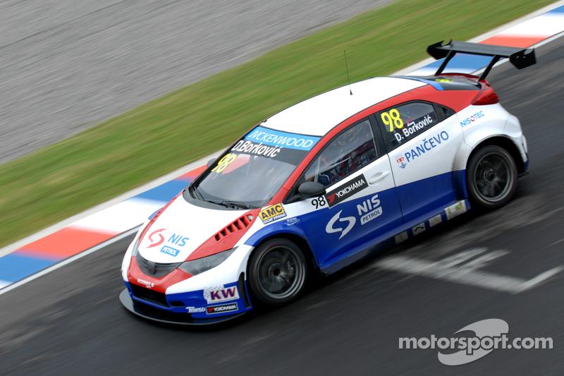 Dusan Borkovic, Proteam Motorsport, Honda Civic WTCC