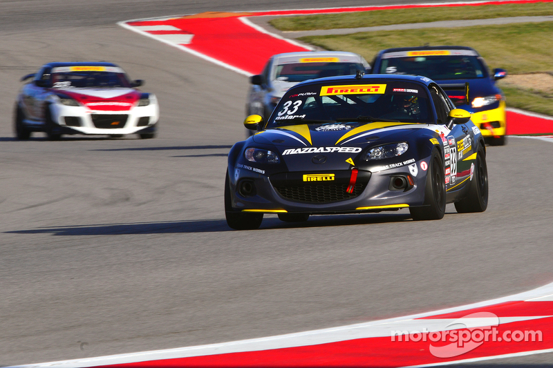 #33 EASTEX Motorsports Mazda MX-5: Adam Poland