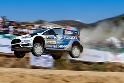 Elfyn Evans and Daniel Barrit, M-Sport 福特 Fiesta WRC