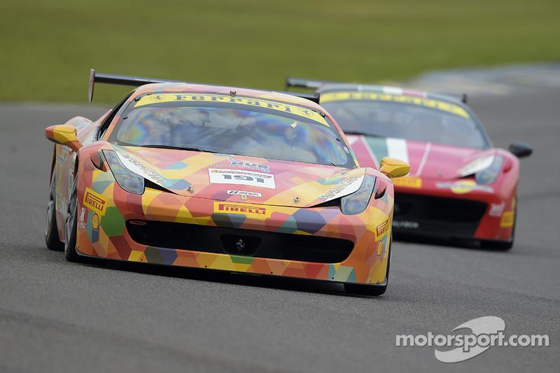 #191 Ferrari of Ontario, Ferrari 458: Dave Terry