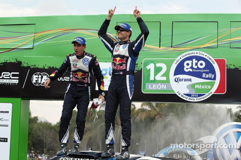 1. Sébastien Ogier und Julien Ingrassia, Volkswagen Polo WRC, Volkswagen Motorsport