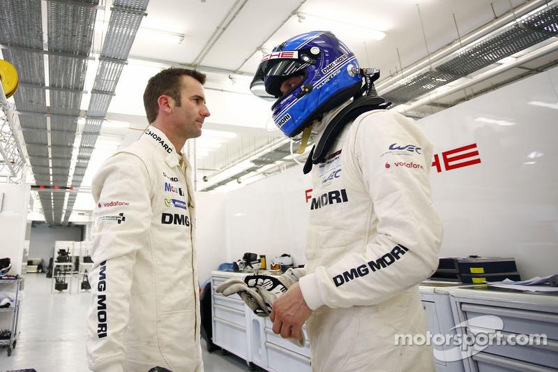 Romain Dumas und Marc Lieb, Porsche Team