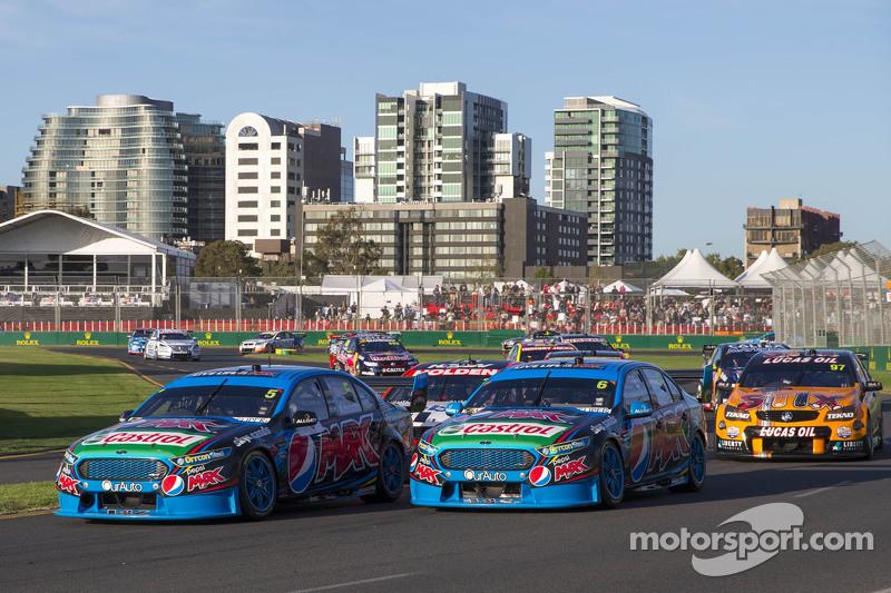 Start: Mark Winterbottom, Prodrive Racing Australia, Ford