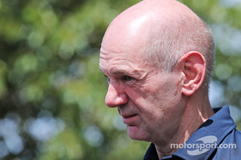 Adrian Newey, Capo Ufficio Tecnico di Red Bull Racing