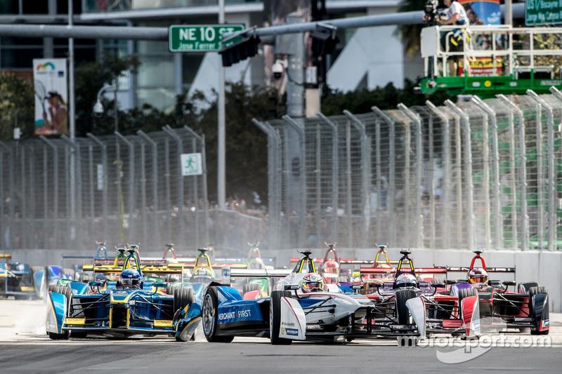 Start: Scott Speed, Andretti Autosport, in Führung