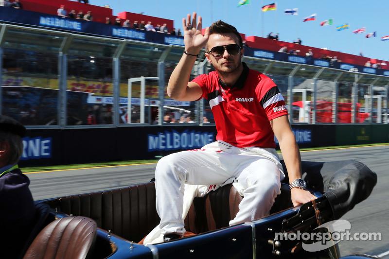 Will Stevens, Manor Marussia F1 Team pada parade pembalap.