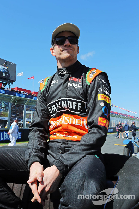 نيكو هلكنبرغ، سهارا فورس إنديا للفورمولا 1 في موكب السائقين