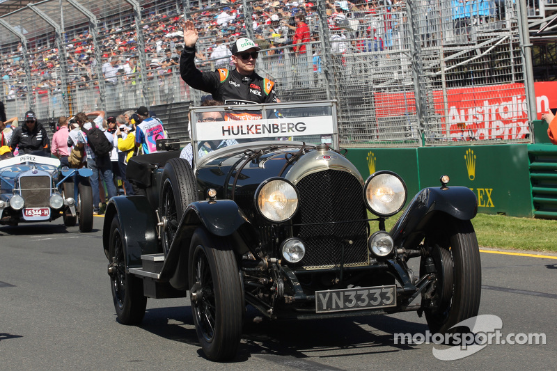 Ніко Хюлкенберг, Sahara Force India F1 на параді пілотів