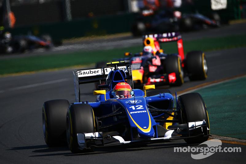 GP Australië 2015, Felipe Nasr, Sauber