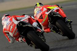Andrea Dovizioso, Ducati Team e Andrea Iannone, Ducati Team