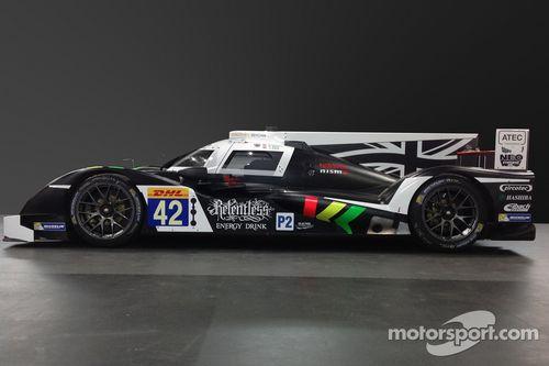 Presentazione della livrea della Dome S103-Nissan della Strakka Racing