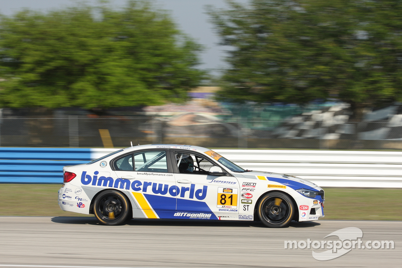 #81 BimmerWorld Racing BMW 328i: та rie Hartanto, Tyler Cooke