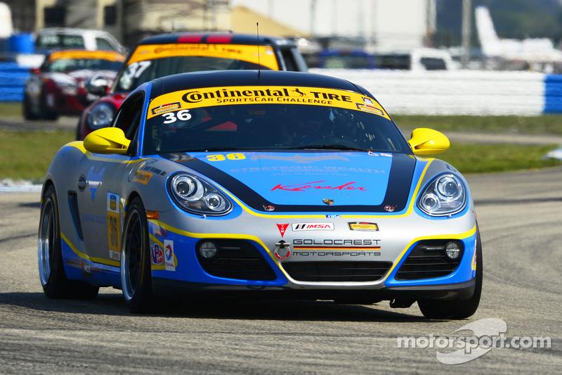 #36 Strategic Wealth Racing Porsche Cayman: Matthew Dicken, John Lewis